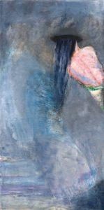 Marianne Aartsen Untitled, oil paint om panel, 244 x 122 cm.