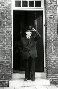 Pierre Kemp, Turennestraat 21, Maastricht. Foto: Hein de Bouter, 1961.