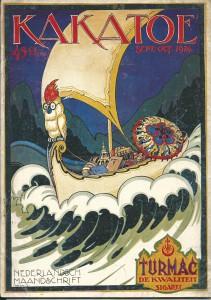 Kakatoe. Geïllustreerd Nederlandsch Maandschrift. 1e jaargang no. 2. Sept.-Oct. 1924. Uitgave S.L. van Looy, Amsterdam