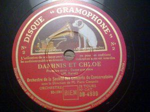 De grammofoonplaat uit de collectie van Pierre Kemp die de dichter inspireerde tot het schrijven van 'Gramophone DB 4930'.